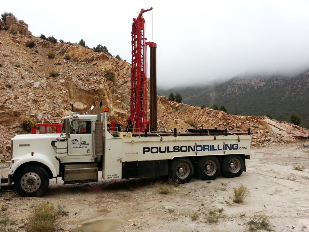 Water well drilling Utah