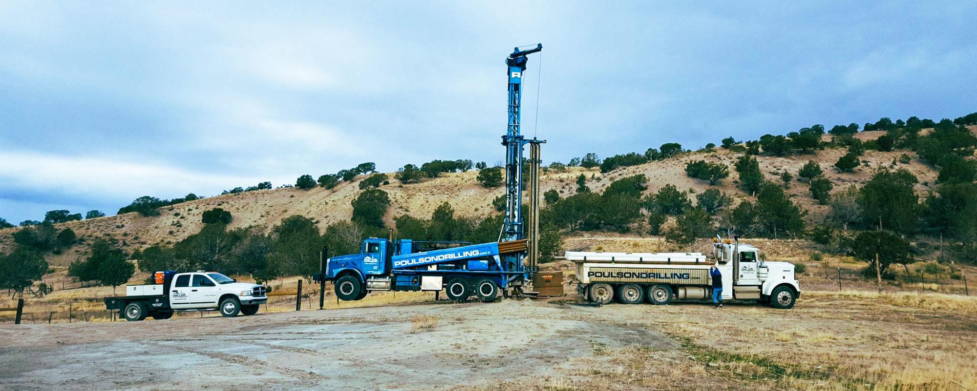 Well Drilling Site Utah