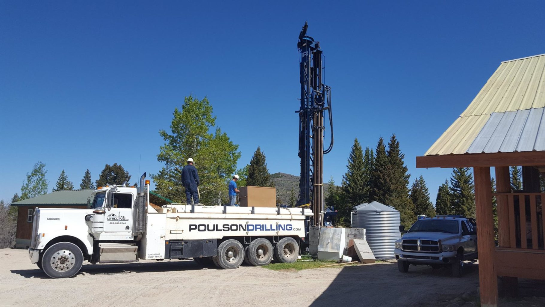 well drilling pump systems